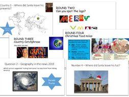 2019 Geography Christmas Quiz