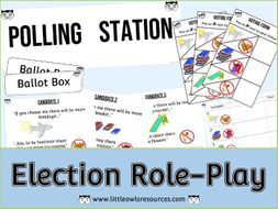 Election Role Play Pack