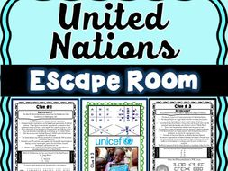 United Nations ESCAPE ROOM: General Assembly, World Court and UNICEF