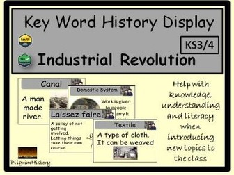 Industrial Revolution Display