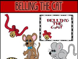 Belling The Cat (Aesop's Fable) Clip Art