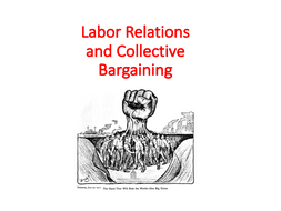 Labor Relations and Collective Bargaining – Human Resource