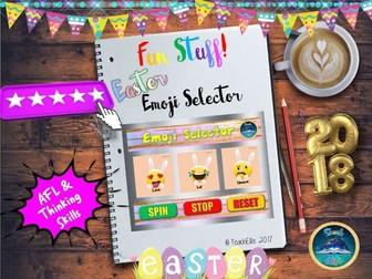 Easter : Emoji Selector Easter Edition