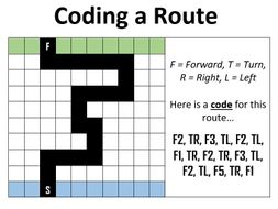 An Introduction to Coding - Coding a Route