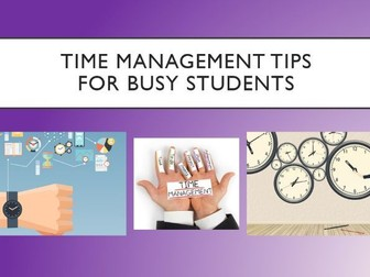 Time Management for Busy Students Assembly