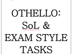 Eduquas GCSE English Literature Othello SoL & exam style