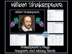 William Shakespeare's Plays