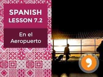 Spanish Lesson 7.2: En el Aeropuerto – In the Airport