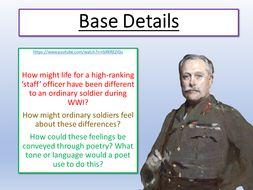 War Poetry Base Details