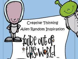 Creative Thinking - Random Alien Inspiration