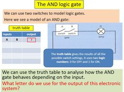 Logic Gates - Bumper Lesson Pack