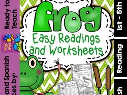 Frog ( Ready to Print Easy Readings and Worksheets)