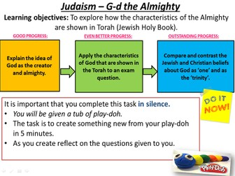 Judaism - The nature of the Almighty
