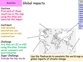 Global impacts of climate change