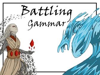 Battling Grammar -   An Exciting Grammar Game for upper primary school
