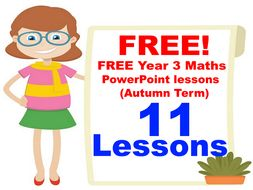 free year 3 maths powerpoint lessons autumn term by peterfogarty
