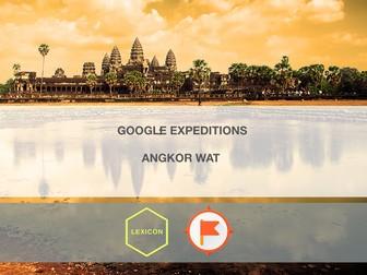 Angkor Wat #GoogleExpeditions Lesson