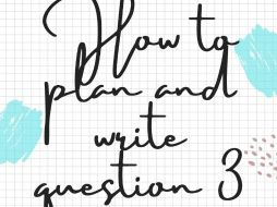 How to plan and write question 3 IGCSE French