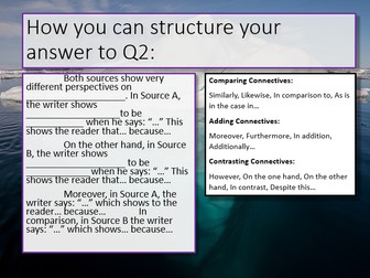 AQA English Language Paper 2 Section A Revision