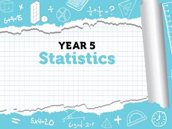 Year 5 - Week 7 - Statistics