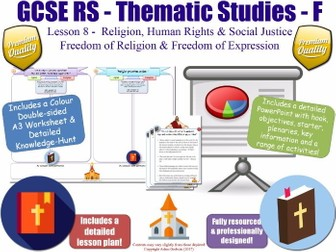 Freedom of Religion & Religious Expression [GCSE RS - Religion, Human Rights & Social Justice L8/10]