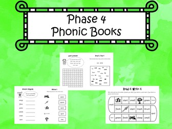 Phonics Phase 4 Books