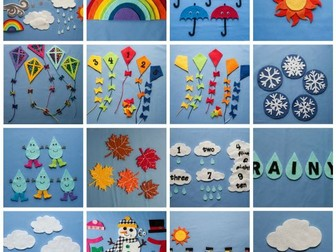 Discover the Weather Felt Board Pattern eBook