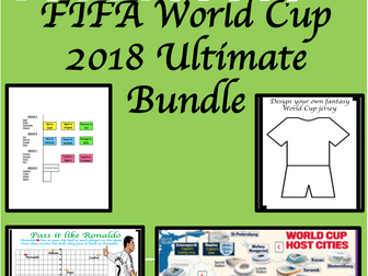World Cup 2018: The Ultimate Bundle
