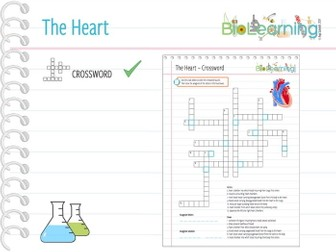 The Heart - Crossword puzzle