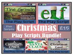 KS2 Drama - A Bundle of Five Christmas Play Scripts