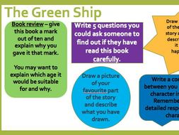 Green Ship Guided Reading