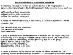 binomial distributions by brabanski teaching resources tes. Black Bedroom Furniture Sets. Home Design Ideas