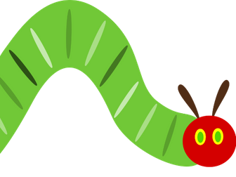 Hungry caterpillar puzzles-bilingual