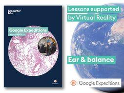 Ear and balance #GoogleExpeditions Science KS2 KS3