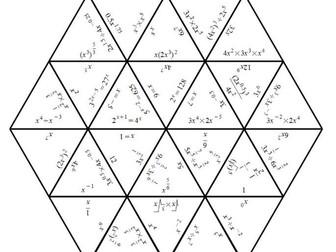 Indices Rules - Tarsia Jigsaw