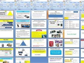 Edexcel GCSE Business Theme 2 - 2.2.1 Product