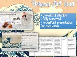 KS2 HOKUSAI Art Unit
