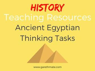 Ancient Egyptian - Thinking Tasks