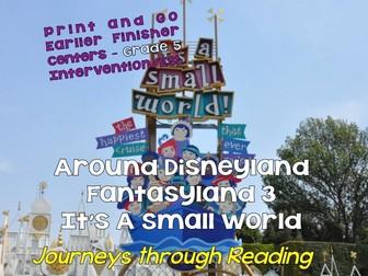 Journeys through Reading: Grade 5: Disneyland - It's a Small World Non-Fiction