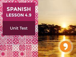 Spanish Lesson 4.9: Así Somos - Unit Test