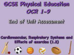 GCSE OCR PE (1.2) Physical Training  - End of unit test