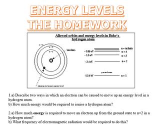 Quantum Physics - Energy Levels!