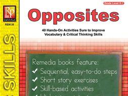 Opposites: Readiness Skills