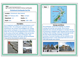 Researching famous earthquakes   KS2 by eddiebray ...