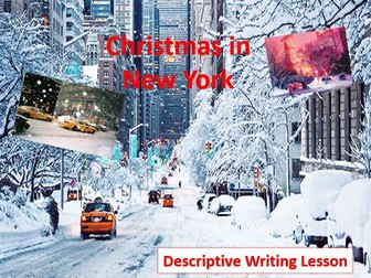 Christmas in New York Descriptive Writing