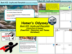 Homer's Odyssey – Book XII: Scylla and Charybdis (characters & themes)