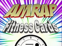 AMRAP  PE Fitness Cards