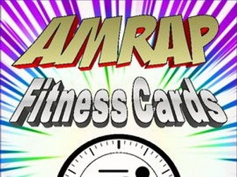 AMRAP  PE Fitness Cards
