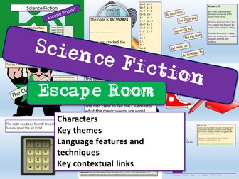 Science Fiction  Escape Room