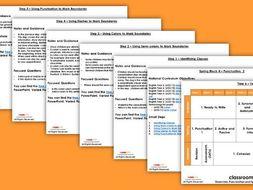 FREE Grammar Scheme of Work Year 6 Spring Block 4